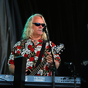 Keyboardist Steve Gunner performing with Creedence Clearwater Revisited at the Queenstown Events Centre, Queenstown, Otago, New Zealand. 5th February 2012. Photo Tim Clayton