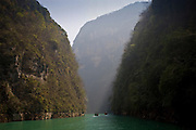 Emerald Gorge, one of the Lesser Gorges on the Daning River off the Yangze River, China