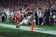 NCAA Football Championship: Clemson vs. Alabama<br /> Clemson Tigers vs. Alabama Crimson Tide<br /> University of Phoenix Stadium/Glendale, AZ, USA<br /> 01/11/2016<br /> SI-156 TK1<br /> Credit: John McDonough