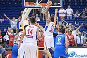 DESCRIZIONE : Berlino Berlin Eurobasket 2015 Group B Italy Serbia<br /> GIOCATORE :  Miroslav Raduljica<br /> CATEGORIA : Controcampo schiacciata<br /> SQUADRA :Serbia<br /> EVENTO : Eurobasket 2015 Group B <br /> GARA : Italy Serbia<br /> DATA : 10/09/2015 <br /> SPORT : Pallacanestro <br /> AUTORE : Agenzia Ciamillo-Castoria/I.Mancini <br /> Galleria : Eurobasket 2015 <br /> Fotonotizia : Berlino Berlin Eurobasket 2015 Group B Italy Serbia
