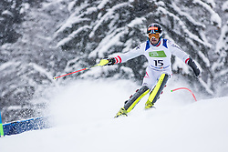 Wuerz Martin of Austria  during Slalom race at 2019 World Para Alpine Skiing Championship, on January 23, 2019 in Kranjska Gora, Slovenia. Photo by Matic Ritonja / Sportida