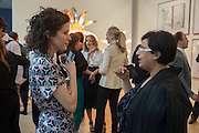 MOLLIE DENT-BROCKLEHURST; H.E. SHEIKHA HOOR AL-QUSIMI; , Yto Barrada opening. Pace London Soho. Lexington St. and afterwards at La Bodega Negra. Old Compton St. 23 May 2012.