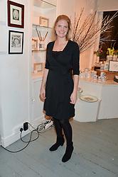 PRINCESS BEATRICE VON PREUSSEN at an exhibition of works by Beatrice von Preussen held at The Gallery on The Corner, 155 Battersea Park Road, London SW8 on 11th December 2013.