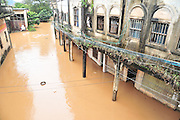 MEIZHOU, CHINA - MARCH 21: (CHINA OUT)<br /> <br /> Rainfall floods Songkou Town on March 21, 2016 in Meizhou, Guangdong Province of China. North Chin's Meizhou City in Guangdong Province encountered heavy rainfall with the maximum rainfall reaching to 129 mm in Jiaoling County.<br /> ©Exclusivepix Media