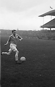 Oliver Freaney, St Vincents Dublin, GAA Football. Action shot on the pitch.  7.7.1954  7th July 1954