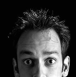 10/8/95 Alan Poindexter. Actor. L. MUELLER/The Charlotte Observer