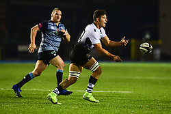 Renato Giammarioli of Zebre Rugby Club in action  - Mandatory by-line: Craig Thomas/JMP - 04/11/2017 - RUGBY - BT Sport Cardiff Arms Park - Cardiff, Wales - Cardiff Blues v Zebre Rugby Club - Guinness Pro 14