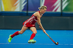 England's Alex Danson. England v The Netherlands - Final Unibet EuroHockey Championships, Lee Valley Hockey & Tennis Centre, London, UK on 30 August 2015. Photo: Simon Parker