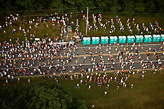 Aerial views of 10K Race