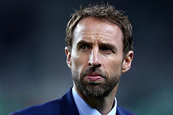 Interim England Manager Gareth Southgate arrives at RSC Stozice ahead of the World Cup Qualifier with Slovenia - Mandatory by-line: Robbie Stephenson/JMP - 11/10/2016 - FOOTBALL - RSC Stozice - Ljubljana, England - Slovenia v England - World Cup European Qualifier
