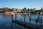 Henley, Oxfordshire. England General Views Henley Town  looking across, the  River Thames from the Oxfordshire bank towards Leander Club on the Berkshire side  <br /> <br /> Thursday  01/12/2016<br /> © Peter SPURRIER<br /> LEICA CAMERA AG  LEICA Q (Typ 116)  f1.7  1/4000sec  35mm  8.7MB