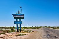 Ouzbekistan, region de Karakalpakstan, mer d'Aral, Moynaq,// Uzbekistan, Karakalpakstan province, Aral sea, Moynaq,