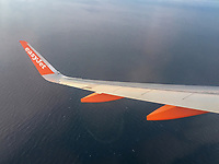 Easyjet A300 Series aircraft en route Belfast-Malaga, March, 2019, 201903043150.<br />