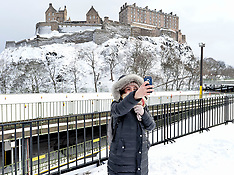 Winter weather | Edinburgh | 1 March 2018