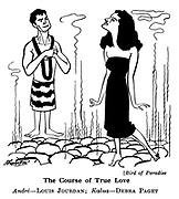 Bird of Paradise ; Louis Jourdan and Debra Paget