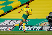 Norwich City defender Jamal Lewis (12)   in action  during the Premier League match between Norwich City and Southampton at Carrow Road, Norwich, England on 19 June 2020.