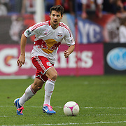 Heath Pearce, New York Red Bulls, in action during the New York Red Bulls V Chicago Fire Major League Soccer regular season match at Red Bull Arena, Harrison. New Jersey. USA. 6th October 2012. Photo Tim Clayton