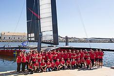 Artemis Racing's Red Boat November 2012 Christening