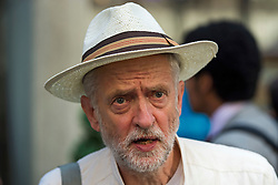 **File picture. Unite union have selected Jeremy Corbyn as their preferrence to be the next Labour Party leader**© Licensed to London News Pictures. 06/06/2015. London, UK. JEREMY CORBYN leaving the venue.  Current Labour Leadership candidates attend a debate at the Fabien Society Conference, held at the institute of Education in London. Photo credit: Ben Cawthra/LNP