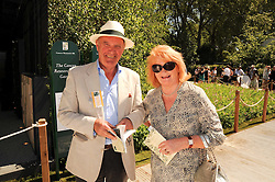 Th 2010 Royal Horticultural Society Chelsea Flower show in the grounds of Royal Hospital Chelsea, London on 24th May 2010.<br /> <br /> Picture shows:- Glynne & Gabrielle Pughe-Morgan