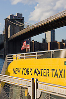 New York Water Taxi in Brooklyn October 2008