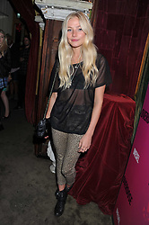 CLARA PAGET at a party tocelebrate the launch of Diesel's new female fragrance 'Loverdose' held at The Box, 11-12 Walkers Court, Brewer Street, London on 7th September 2011.