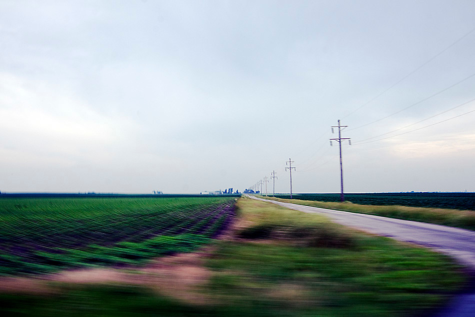 Country Road Passing, Homer, IL.