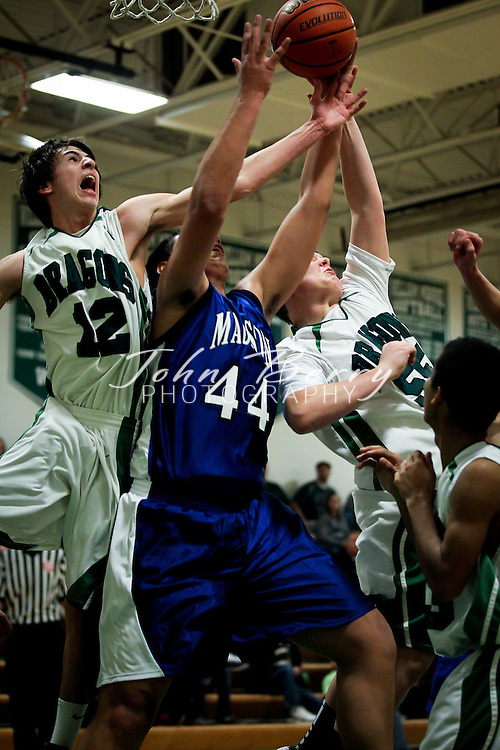 January/25/12:  MCHS JV Boys Basketball at William Monroe.  Madison wins 46-43.  Donald Butler with 19 points.