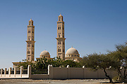Between Nizwa and Bahla, Sultanate of Oman. .February 2nd 2009..A mosque between Nizwa and Bahla