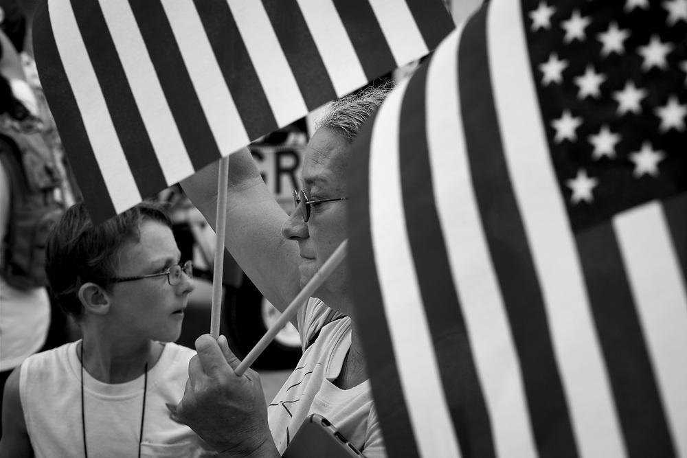 Flag Bearers. Washington DC