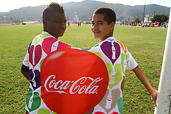 Copa Coca-Cola 2013 no complexo esportivo Aldo Silva, em FlorianÛpolis. FOTO: Cristiano Estrela/Preview.com