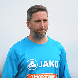 TELFORD COPYRIGHT MIKE SHERIDAN Kettering boss Nicky Eaden during the National League North fixture between Kettering Town and AFC Telford United at Latimer Park on Saturday, August 3, 2019<br /> <br /> Picture credit: Mike Sheridan<br /> <br /> MS201920-005