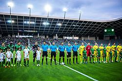 football match between NK Olimpija and NK Domzale in 2nd Round of Prva liga Telekom Slovenije 2019/20, on July 21st, 2019, in Stadium Stozice, Ljubljana, Slovenia. Photo by Grega Valancic / Sportida