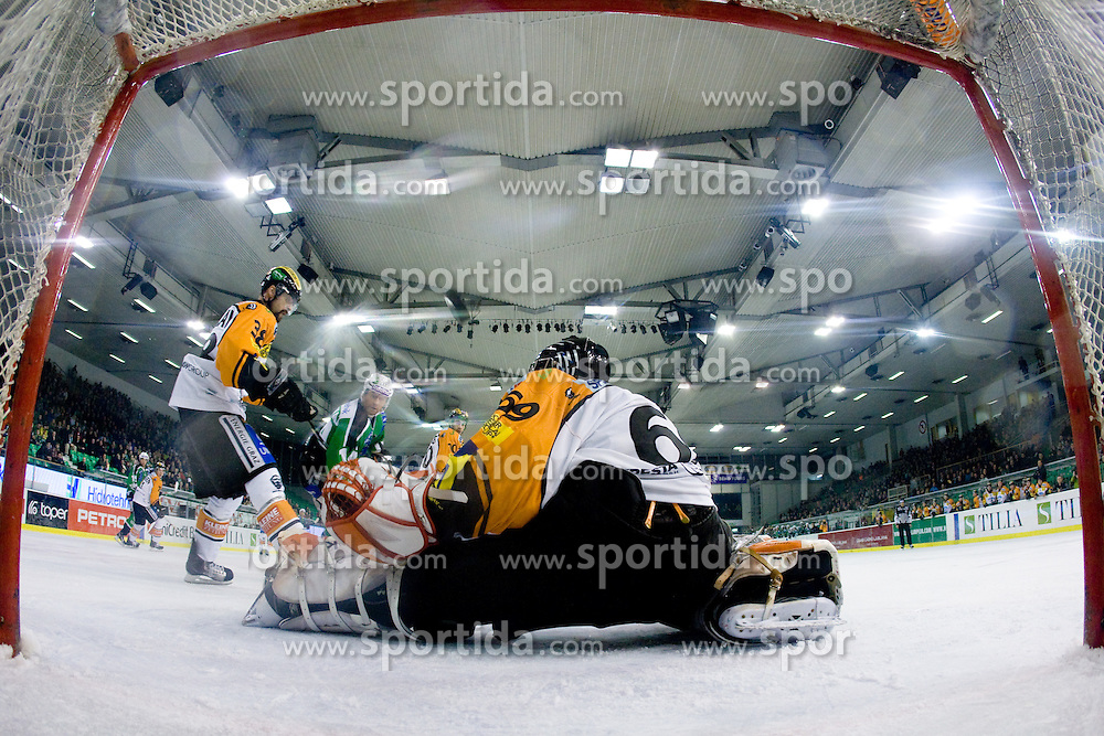 Fabian Weinhandl (Moser Medical Graz 99ers, #69) during ice-hockey match between HDD Tilia Olimpija and Moser Medical Graz 99ers in 21st Round of EBEL league, on November 21, 2010 at Hala Tivoli, Ljubljana, Slovenia. (Photo By Matic Klansek Velej / Sportida.com)