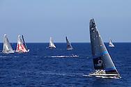 SPAIN, Barcelona, AUDI MedCup, 24th July 2010,  Camper Regatta - Conde de Godo Trophy, TEAMORIGIN and the TP52 fleet.