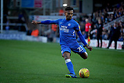 Peterborough United defender and man of the match Tyler Denton (23) during the EFL Sky Bet League 1 match between Peterborough United and Bradford City at The Abax Stadium, Peterborough, England on 17 November 2018.