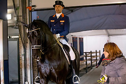 Minderhoud Hans Peter, NED, Glock's Dream Boy<br /> Jumping Mechelen 2018<br /> © Hippo Foto - Sharon Vandeput<br /> 28/12/18