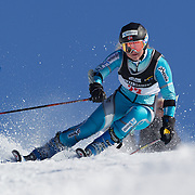 Annie Winquist, Norway, in action during the Women's Giant Slalom competition at Coronet Peak, New Zealand during the Winter Games. Queenstown, New Zealand, 23rd August 2011. Photo Tim Clayton