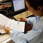 Office of Chief Medical Examiner, Criminologist, DNA lab technician 1) setting up a sample sheet to run DNA sample for an STR run to obtain DNA profiles from evidence and reference samples 2) running samples 3) allocating  samples for an STR run