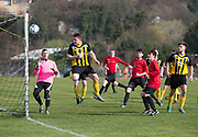 - Stobswell Athletic (yellow and black) v Fintry Rovers (red) in the Dundee Saturday Morning Football League Memorial Cup first round at University Ground, Riverside, Dundee, Photo: David Young<br /> <br />  - © David Young - www.davidyoungphoto.co.uk - email: davidyoungphoto@gmail.com