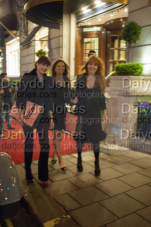 JASMINE GUINNESS; HEATHER KERZNER; CHARLOTTE TILBURY, Tatler magazine Jubilee party with Thomas Pink. The Ritz, Piccadilly. London. 2 May 2012