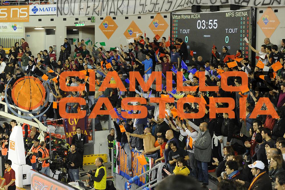 DESCRIZIONE : Roma Campionato Lega A 2011-12 Acea Virtus Roma Montepaschi Siena <br /> GIOCATORE : tifosi roma<br /> CATEGORIA :  supporters<br /> SQUADRA :  Acea Roma Montepaschi Siena<br /> EVENTO : Campionato Lega A 2011-2012<br /> GARA :  Acea Roma Montepaschi Siena<br /> DATA : 26/02/2012<br /> SPORT : Pallacanestro<br /> AUTORE : Agenzia Ciamillo-Castoria/GiulioCiamillo<br /> Galleria : Lega Basket A 2011-2012 <br /> Fotonotizia :  Roma Lega A 2011-12 Acea Roma Montepaschi Siena<br /> Predefinita :