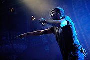Photos of 3OH!3 performing at the Uptown Theater in Kansas City on May 19, 2010.