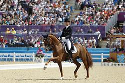 Kittel, Patrick, Scandic<br /> London - Olympische Spiele 2012<br /> <br /> Dressur Grand Prix de Dressage<br /> © www.sportfotos-lafrentz.de/Stefan Lafrentz