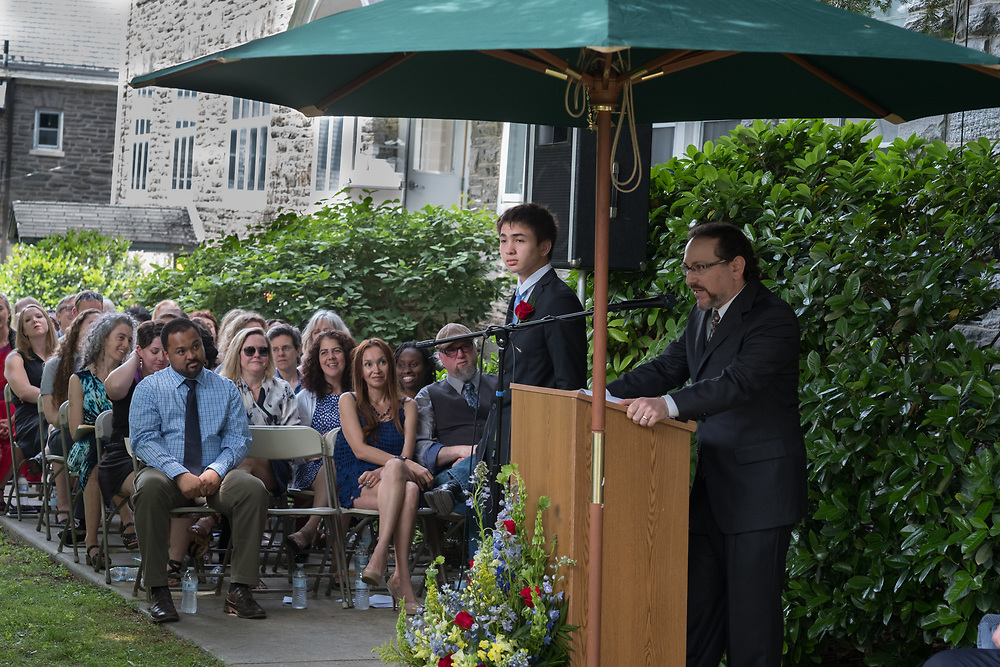 June 8, 2018 Graduation ceremonies at The Crefeld School, in Chestnut Hill. © 2018 ED HILLE
