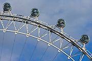 The British Airways London Eye in England, United Kingdom