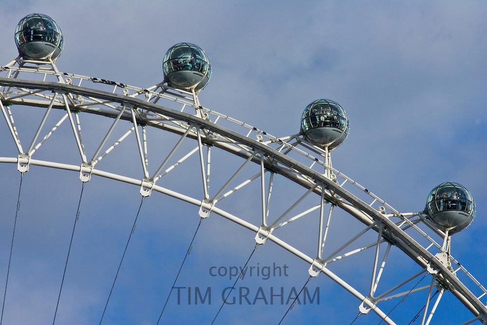 The British Airways London Eye in England, United Kingdom
