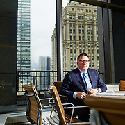Richard Hodos of CBRE inside of his office, 200 Park Ave., New York, New York, Feb.25, 2016.<br /> Yvonne Albinowski/For Commercial Observer