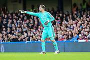 Chelsea's goalkeeper Asmir Begović during the The FA Cup third round match between Chelsea and Scunthorpe United at Stamford Bridge, London, England on 10 January 2016. Photo by Shane Healey.