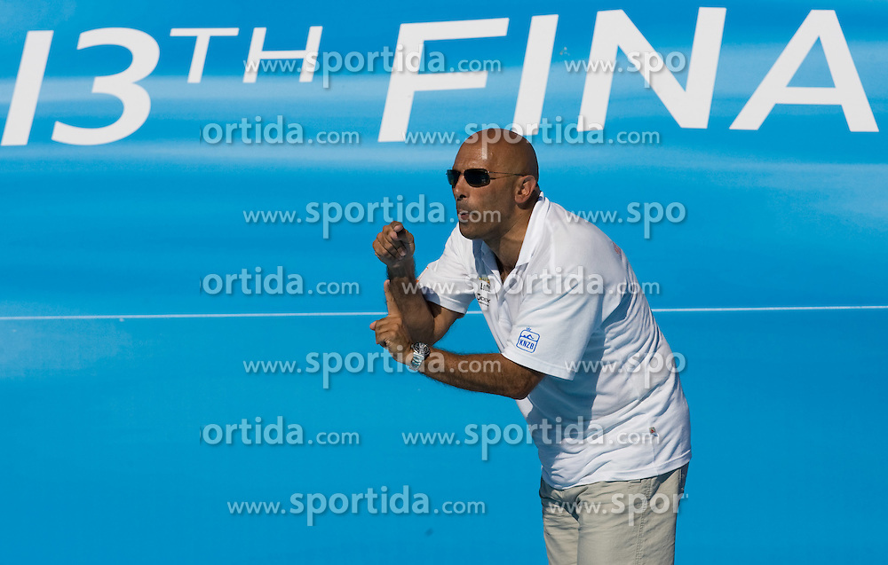Coach of Netherlands Mauro Maugeri at Women Waterpolo match between National Teams of Nederlands and New Zealand at 13th FINA World Championships Rome 2009, on July 25 2009, at Foro Italico, Rome, Italy. (Photo by Vid Ponikvar / Sportida)